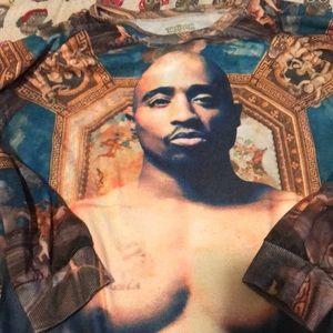 Tupac pullover sweatshirt